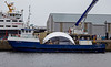 'Lyrawa Bay' - with Damaged Visor from the 'Coruisk' at James Watt Dock - 15 March 2014