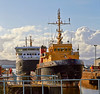 Garvel Dry Dock - 7 April 2014