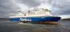 Bruiser Pushes MV Finnarrow Outside Inchgreen Dry Dock - 20 March 2013
