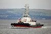 Tug 'Keverne' - Passing Greenock Outbound - 20 February 2013