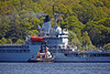'SD Impetus' Berthing 'RFA Gold Rover' at Faslane - 16 May 2014
