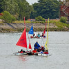 'Race To The Games' Flotilla passing Erskine - 2 July 2014