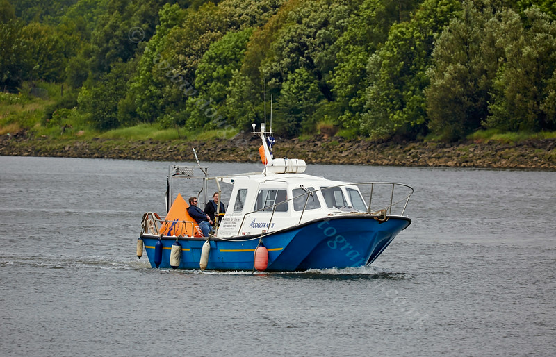 'Coegfran II' assisting with the 'Race To The Games' Flotilla - 2 July 2014