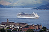 'MSC Magnifica' Passing Gourock - 18 August 2013