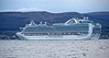 'Emerald Princess' Passing Dunoon - 14 September 2013