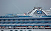 'Ruby Princess' off Greenock Esplanade - 3 July 2014