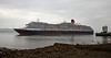 'Queen Victoria' off Greenock Esplanade - 29 May 2014
