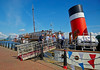 PS Waverley at Customhouse Quay - 10 July 2014