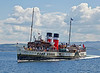 PS Waverley off Customhouse Quay - 10 July 2014
