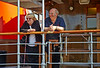 Relaxed and Happy Aboard the PS Waverley off Customhouse Quay - 10 July 2014