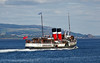 PS Waverley off Customhouse Quay - 11 July 2014