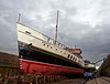 PS Waverley - Garvel Dry Dock - 18 May 2013