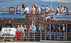 Passengers Enjoy the Sunshine Aboard the PS Waverley - 10 July 2014