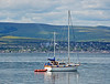 'Discovery' off Greenock Esplanade - 29 June 2014