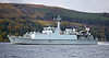 HMS Bangor (M109) Off Rhu Spit - 7 October 2013