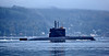 KNM Utvaer (S303) Norwegian Submarine Bound for Faslane - 4 October 2013