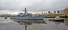 HMS Northumberland (F238) at Braehead - 4 October 201