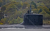 USS Virginia - USN Submarine Off Rhu Spit - 7 October 2013