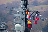 Flags Flying - HMS Iron Duke (F234)