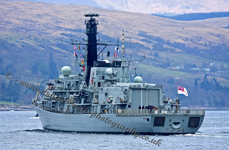 HMS Iron Duke (F234) - Type 23 Frigate