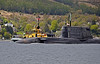 HMS Ambush - Off Rhu Spit - 10 May 2013