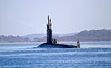 USS New Mexico (SSN-779) Outward Bound from Faslane - 1 March 2013