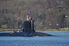 USS New Mexico (SSN-779) - Approaching Rhu Spit - 1 March 2013