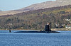 USS New Mexico (SSN-779) Approaching  Rhu Spit - 1 March 2013