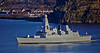 'HMS Defender' Passing  Dumbarton - 1 December 2013