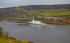 HMS Duncan on Second Sea Trials - Erskine Bridge - 16 November 2012