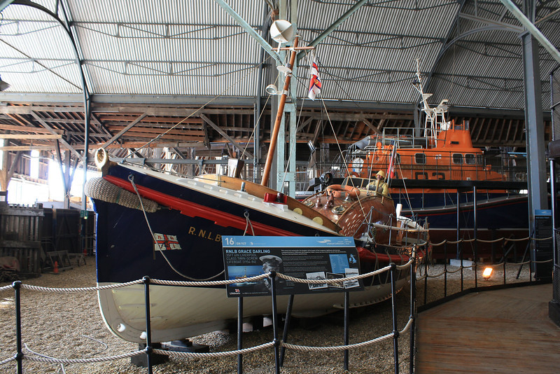 "Liverpool Class Build No:927 ""RNLB Grace Darling"" - Preserved Lifeboat @ Chatham Historic Dockyard 14.10.11"