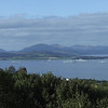 Photo taken from the view point at the top of the Kilmacolm Road above Port glasgow, from l-r, HMS Bulwark, RFA Mounts Bay, HMS Ark Royal, Tonnerre and HMS Manchester