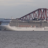 MSC Magnifica<br /> MSC Cruises<br /> 2nd May 2014<br /> At anchor off South Queensferry