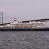 Prinsendam Holland America Line 29th June 2013 Arriving at Rosyth