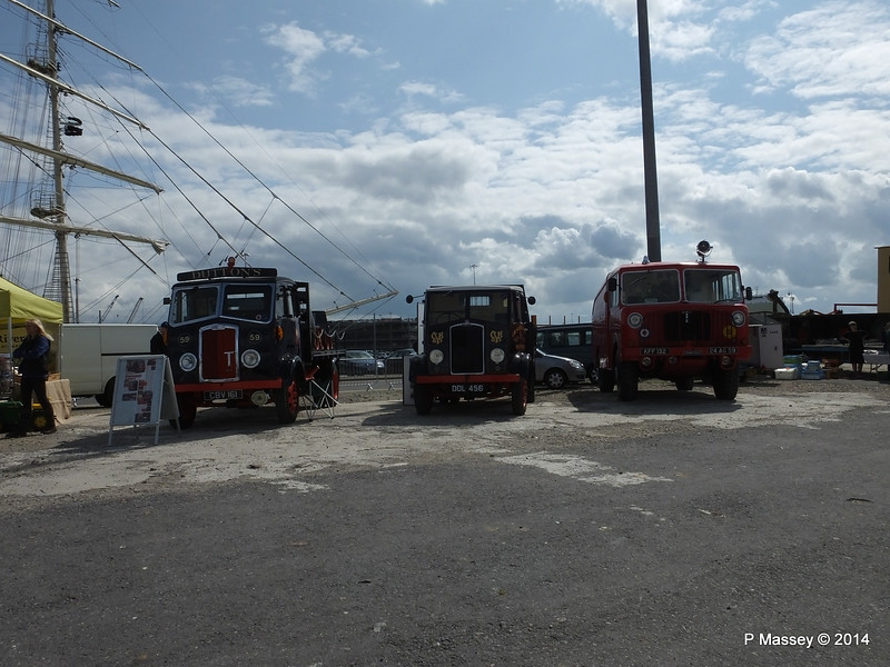 Thornycroft Beer Dray Lorry Fire Engine Southampton PDM 22-08-2014 12-41-42