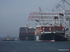 AL QIBLA moving out from astern NYK ORION Southampton PDM 08-03-2014 12-47-14