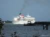 BALMORAL Catching the Sun on Departure Southampton PDM 20-07-2014 17-14-56