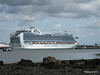 EMERALD PRINCESS Departing Southampton PDM 09-08-2014 16-35-059