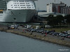 Mayflower Park from RED OSPREY with INDEPENDENCE OF THE SEAS Southampton PDM 12-07-2014 14-15-12