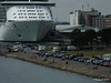 Mayflower Park from RED OSPREY with INDEPENDENCE OF THE SEAS Southampton PDM 12-07-2014 14-15-17