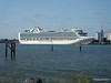 RUBY PRINCESS Departing Southampton PDM 22-07-2014 17-41-57