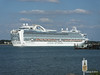 RUBY PRINCESS Departing Southampton PDM 22-07-2014 17-46-00