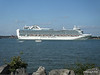 RUBY PRINCESS Departing Southampton PDM 22-07-2014 17-43-41