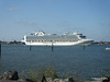 RUBY PRINCESS Departing Southampton PDM 22-07-2014 17-42-26