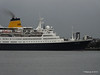 SAGA RUBY Departs Southampton for the last time PDM 10-01-2014 15-27-49