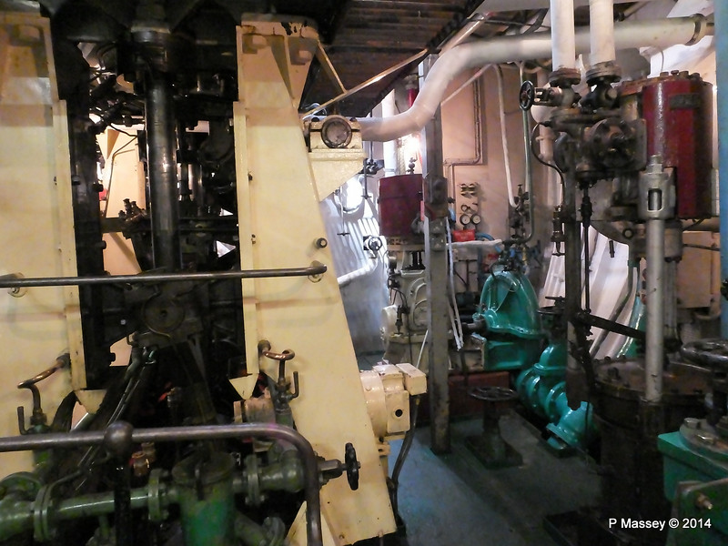 ss SHIELDHALL Engine Room While Alongside PDM 22-08-2014 13-24-46
