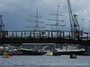 TENACIOUS under Husbands Jetty Southampton PDM 18-08-2014 16-07-016