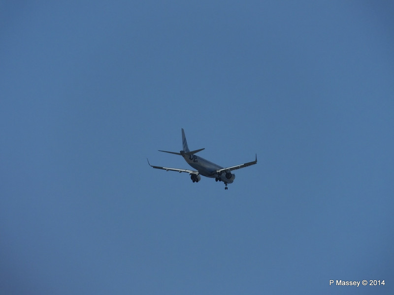 Flybe Embraer 195 Approaching SOU 22-07-2014 16-31-17