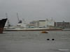 KASHIMA BAY Departing Southampton in rain PDM 05-01-2014 13-39-10