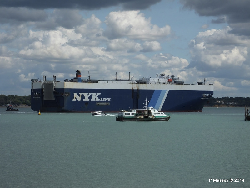 AQUARIUS LEADER Outbound GREAT EXPECTATIONS Southampton PDM 20-08-2014 13-21-12